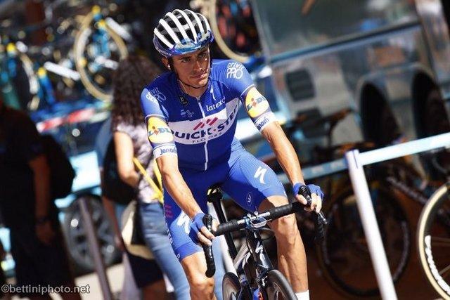 El ciclista Enric Mas (Quick-Step Floors) en La Vuelta 2018