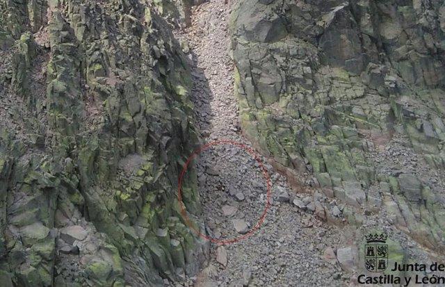 Rescate en el Pico Almanzor, en Ávila. 14-9-2018