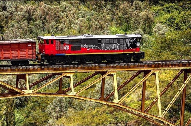 El tren crucero de Ecuador