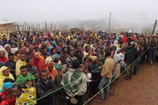 Desplazados por la violencia en el sur de Etiopía