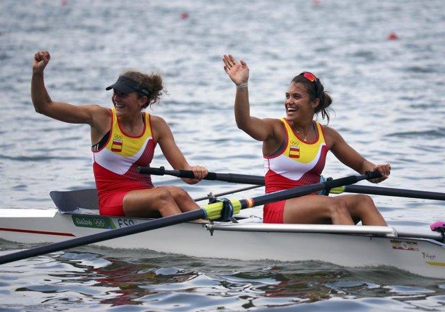 Anna Boada Aina Cid remo dos sin timonel Juegos Olímpicos Río