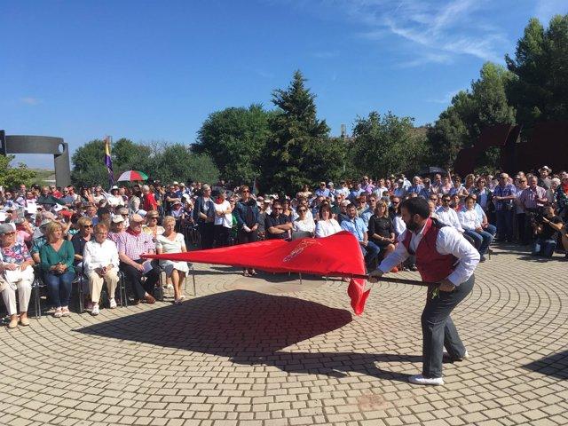 Homenaje a las víctimas del golpe militar de 1936 en Sartaguda