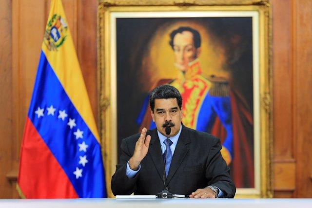 Presidente Nicolás Maduro muestra pruebas de su intento de atentado