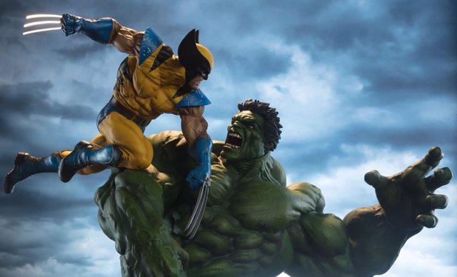 hulk contra lobezno el sue241o de mark ruffalo con los x
