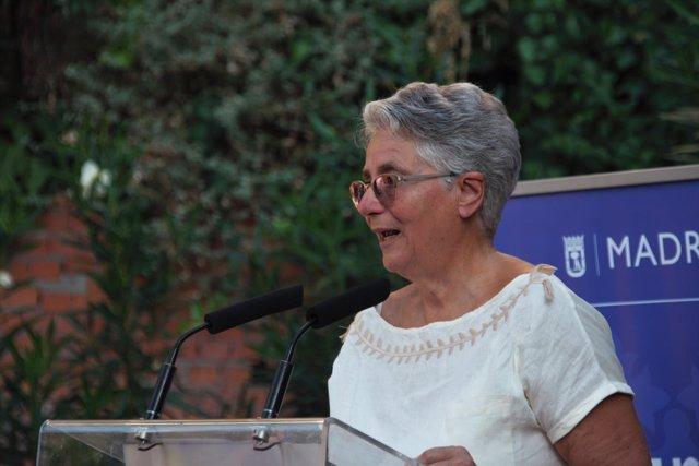 La concejala presidenta del distrito de Tetuán, Montserrat Galcerán