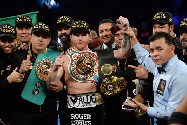 Saúl 'Canelo' Álvarez boxeo