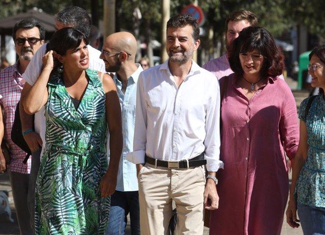 Teresa Rodríguez y Antonio Maíllo lideran la candidatura de Adelante Andalucía