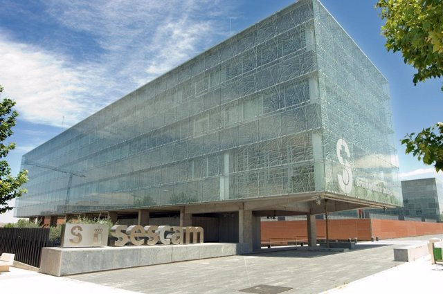 Edificio del Sescam en Toledo