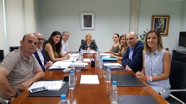 Violante Tomás preside el Consejo de Dirección del Instituto Murciano de Acción