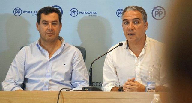 Bendodo y Moreno