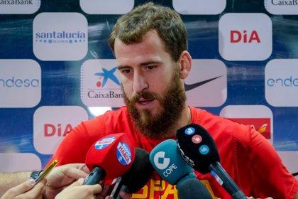 """Sergio Rodríguez: """"El objetivo está encaminado, queremos quedarnos más cerca de la clasificación"""""""