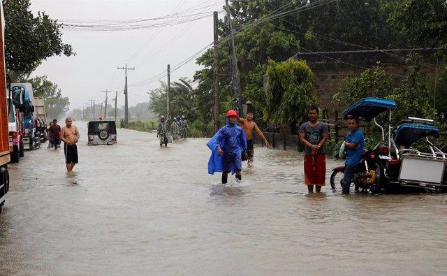 Paso del tifón 'Mangkhut' por Filipinas