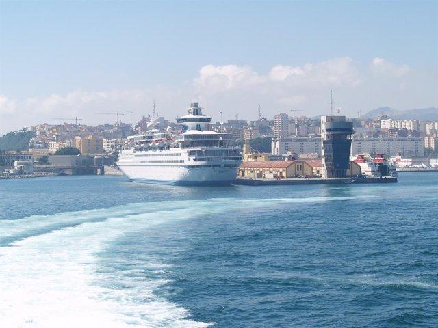 Imagen Del Puerto De Ceuta