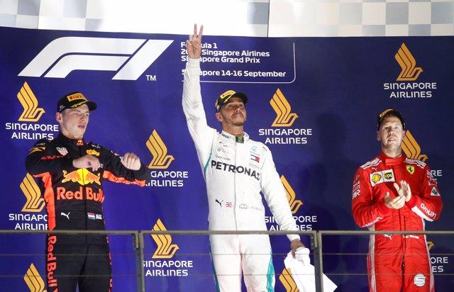 Lewis Hamilton Singapur