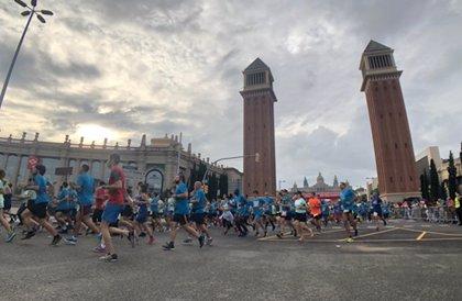 El Bannouri y Miriam Ortiz ganan la 40 edición de la Cursa de la Mercè 2018 de Barcelona