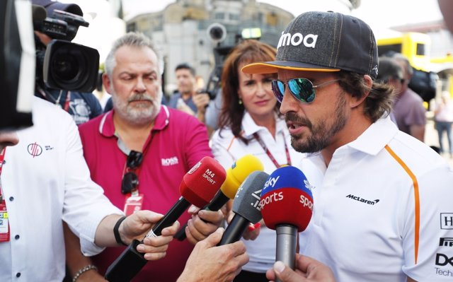 Alonso: 'Ha sido una carrera mágica para nosotros'