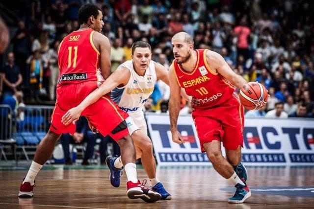 España Ucrania selección española baloncesto