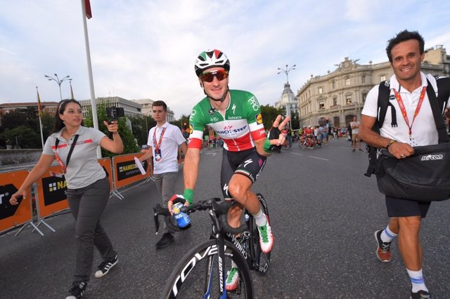 Elia Viviani (Quick-Step Floors), Durante La Vuelta 2018