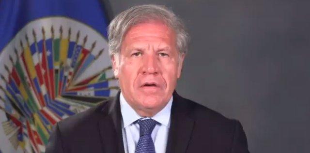 Comunicado del secretario general de la OEA, Luis Almagro