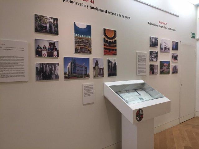 Exposició en la sede de la Junta de Albacete
