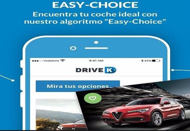Nueva app para saber tu coche ideal
