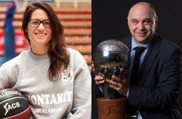 Anna Montañana y Pablo Laso, entrenadores del Año