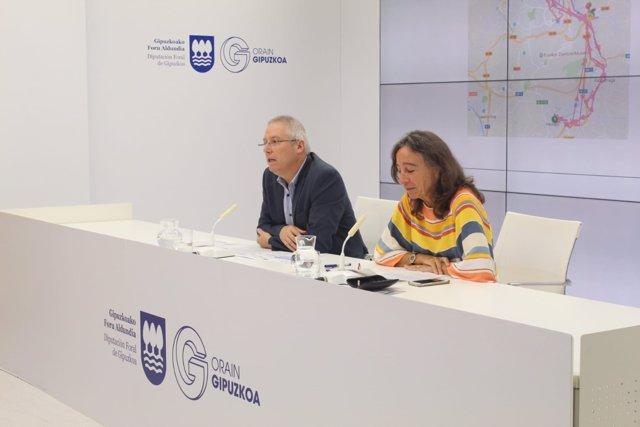 José Ignacio Asensio y Marisol Garmendia