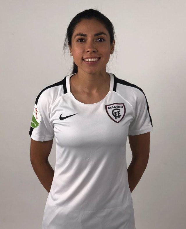 Analú Martínez, jugadora del Madrid femenino