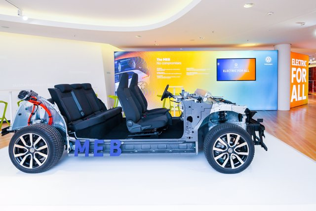 Nueva plataforma MEB para coches eléctricos