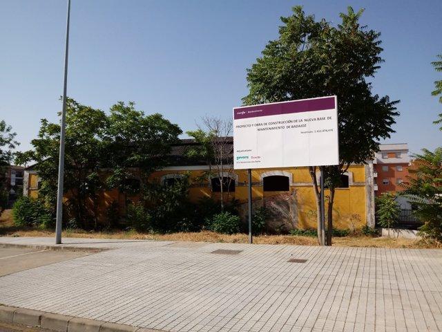Proyecto taller de trenes en Badajoz