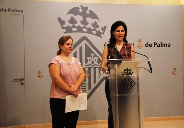 Regidora de Sanidad y Consumo, Antónia Martín