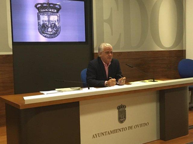 Concejal del PP en Oviedo Fernando Fernández-Ladreda