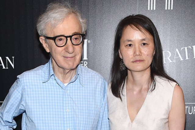 Woody Allen Y Su Esposa Soon-Yi Previn