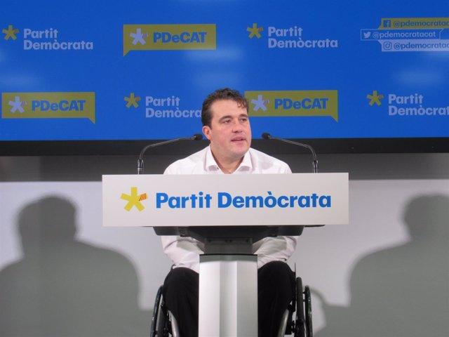 David Bonvehí, PDeCAT