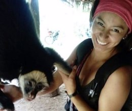 La turista hispano-ecuatoriana Náthaly Salazar, desaparecida en Perú