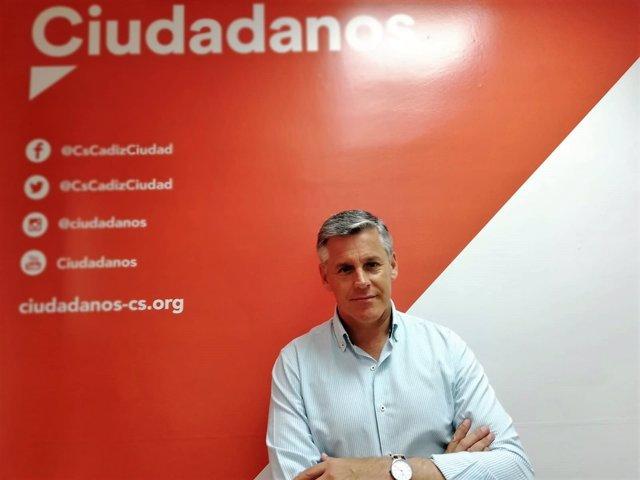 El diputado por Cádiz de Cs, Javier Cano