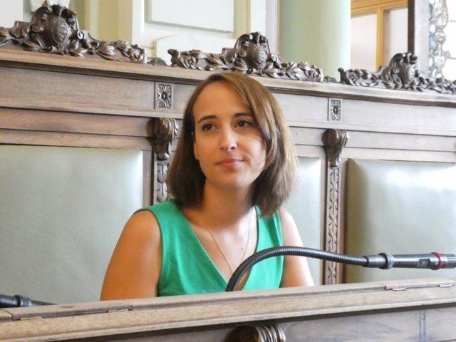 La portavoz de Cs en el Ayuntamiento de Valladolid. Imagen de archivo
