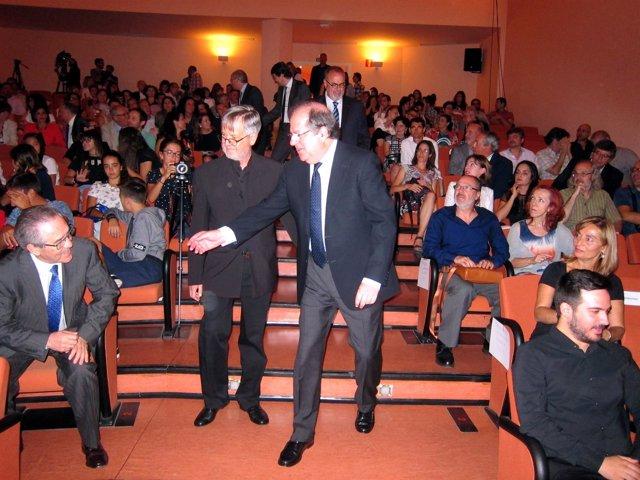 Herrera en la apertura del curso en el Conservatorio Superior de Música de CyL