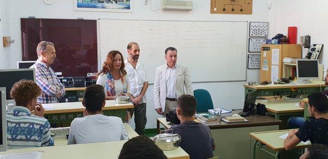 Inauguración curso escolar en Secundaria en Cádiz