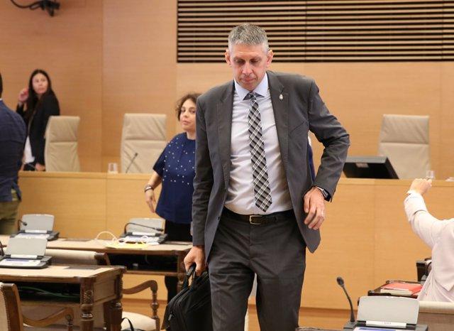 José Ángel Fuentes Gago declara en la comisión de investigación del Congreso