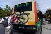 Foto: La Junta instala soportes para bicicletas en el 40 por ciento de las líneas interurbanas de bus de Granada