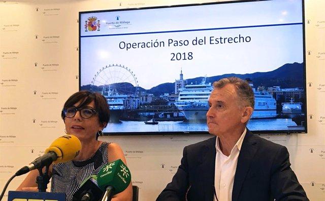 María Gámez y Paulino Plata OPE 2018