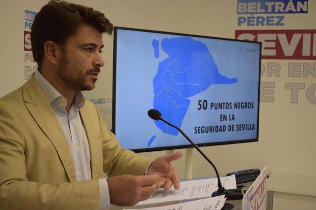 """Beltrán Pérez avisa de la """"creciente inseguridad"""""""