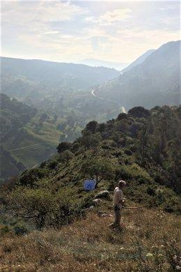 Campeonato europeo de tiro con armas prehistóricas en Monte Castillo