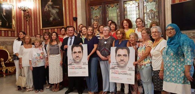 Presentación de la campaña #Yonosoycómplice