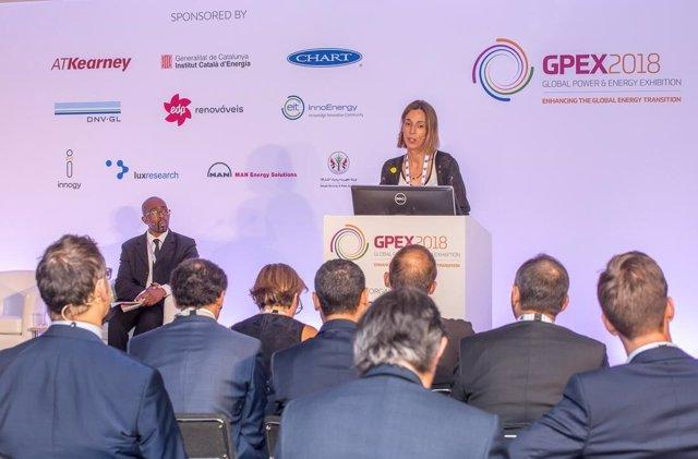 La consellera de Empresa y Conocimiento, Àngels Chacón, inugura el GPEX
