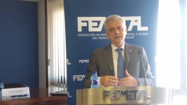 Guillermo Ulacia, presidente Femetal