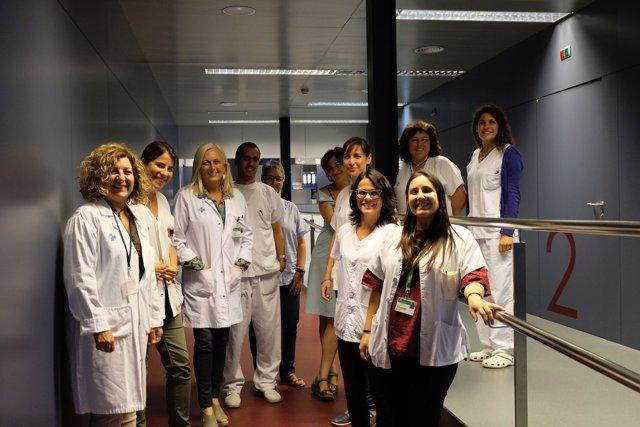 Investigadoras del Hospital Germans Trias i Pujol de Badalona (Barcelona)