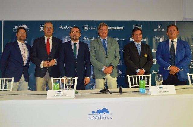 Presentación del Andalucía Valderrama Masters