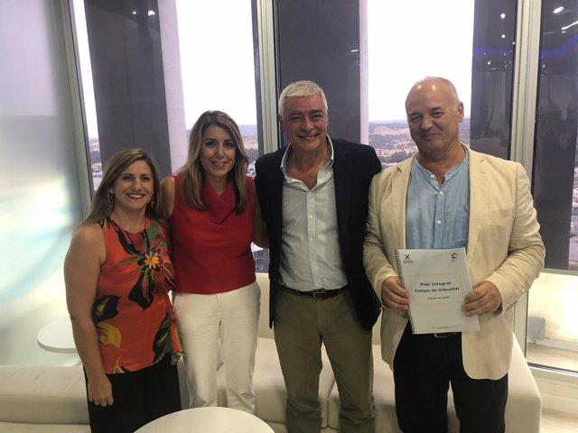 Coordinadora Alternativa entrega un Plan Integral para el Campo de Gibraltar